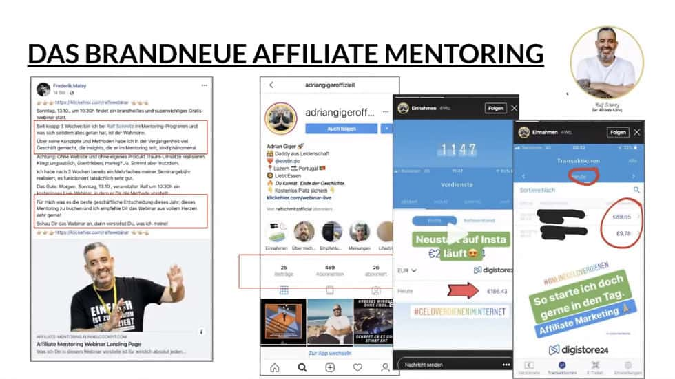 Affiliate-Marketing mit Instagram